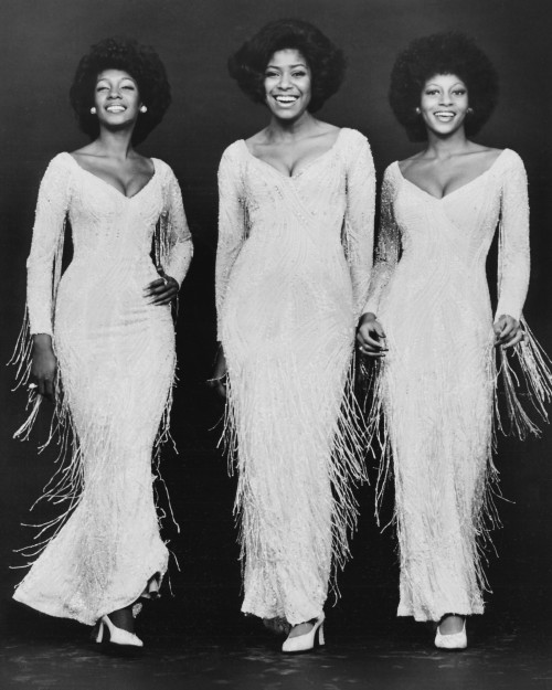 The Supremes in White Fringe