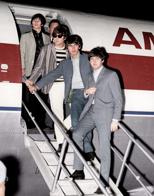 The Beatles Arriving