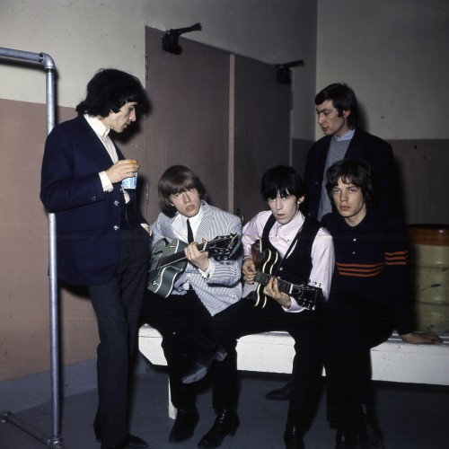 The Rolling Stones Backstage