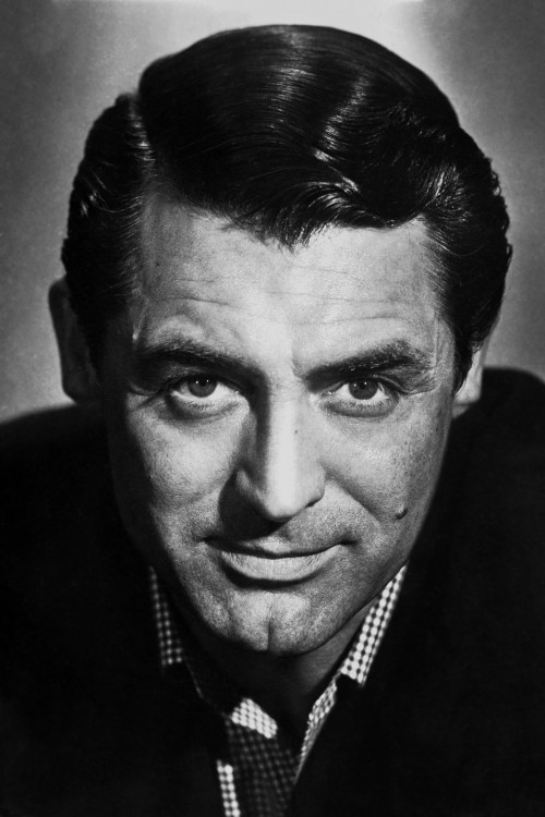 Cary Grant: Leading Man Leaning In