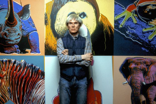 """Andy Warhol with """"Endangered Species"""" Series"""