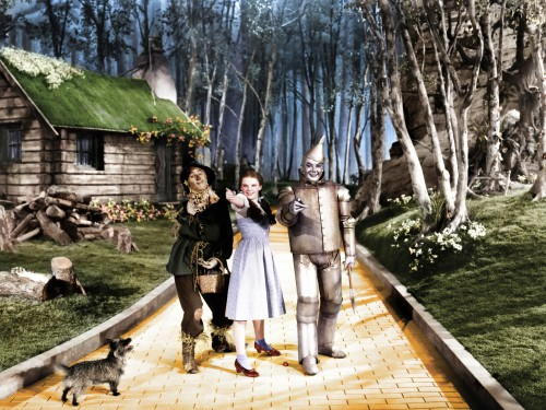 """Wizard of Oz the """"Yellow Brick Road"""""""