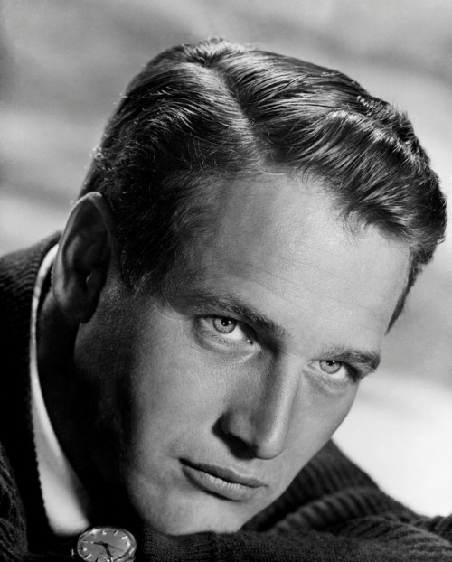 Paul Newman Handsome Star in the Studio