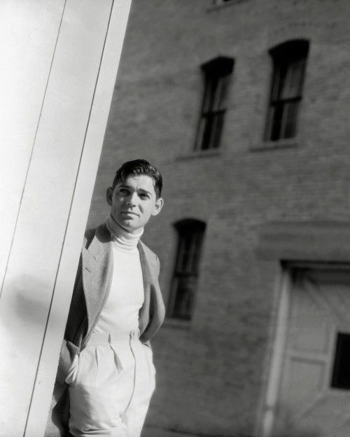 Clark Gable Awesome Portrait Outdoors