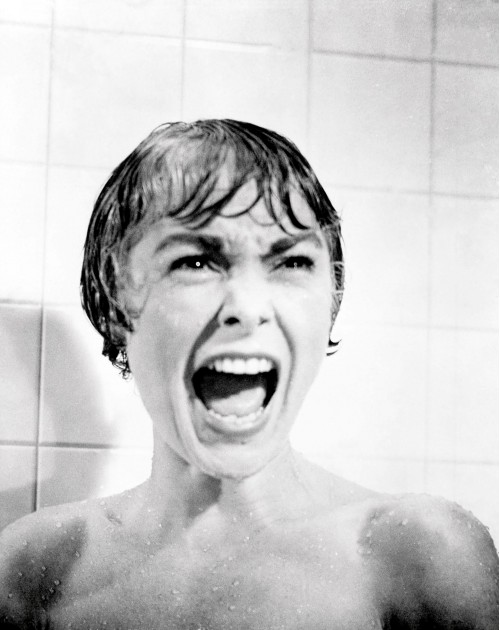 """Janet Leigh Famous Scream in """"Psycho"""""""