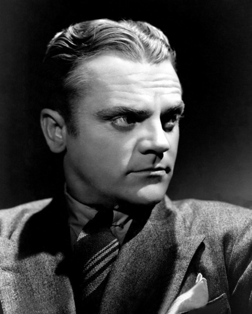 James Cagney Dramatic Portrait in the Studio