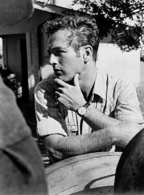 Paul Newman Deep in Thought