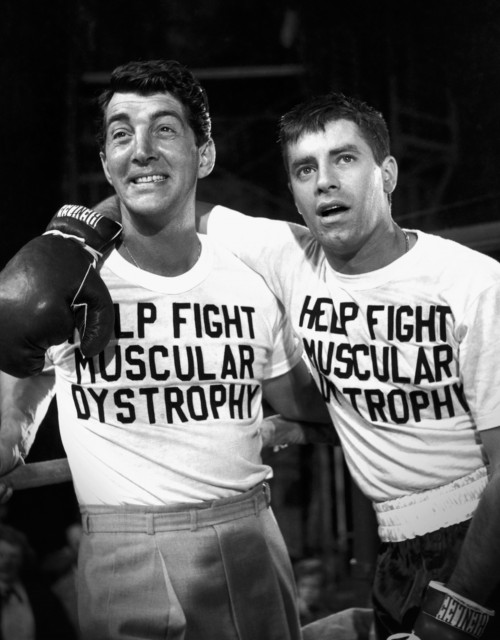 Dean Martin and Jerry Lewis Fight Muscular Dystophy