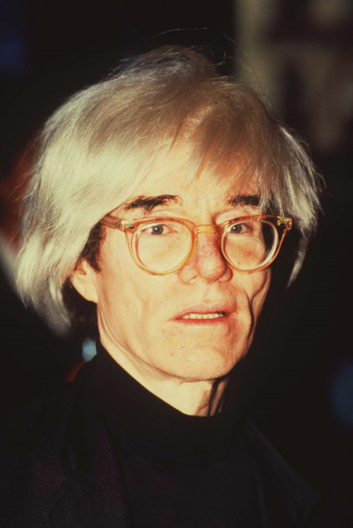 Andy Warhol Candid in Color