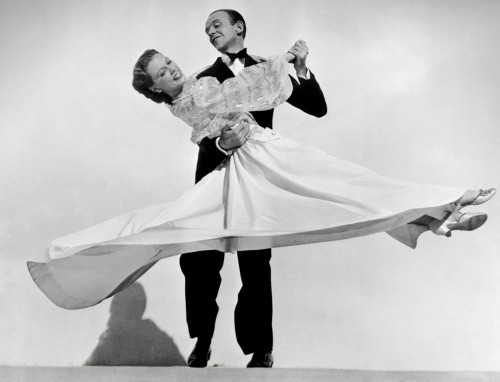 Fred Astaire and Eleanor Powell Dancing