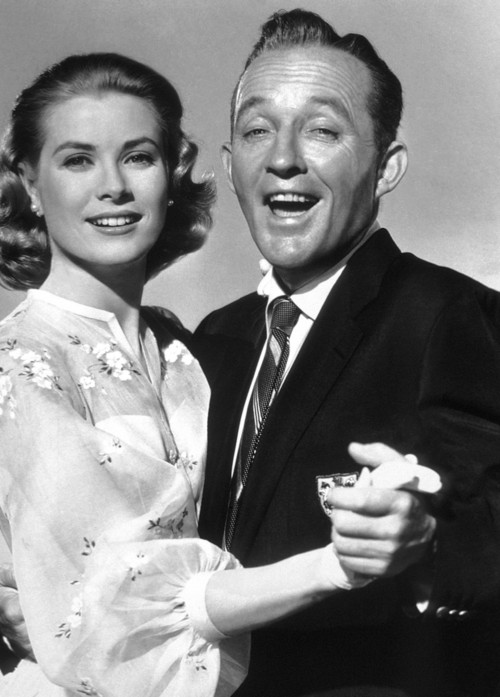 """Grace Kelly and Bing Croby """"High Society"""""""