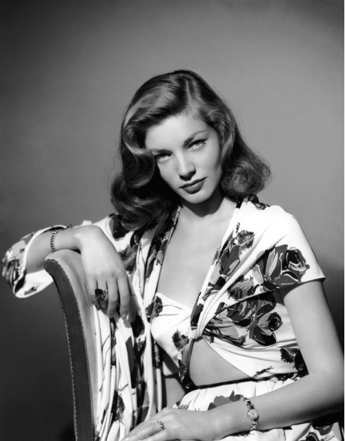 Lauren Bacall: Sultry Sitting in the Studio
