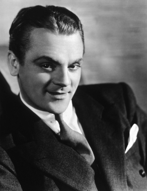 James Cagney Smiling in the Studio