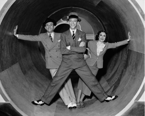 Fred Astaire, George Burns, and Gracie Allen