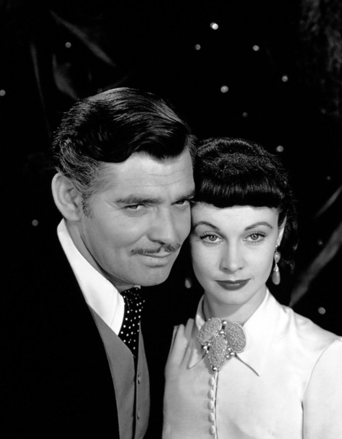Clark Gable and Vivien Leigh Smiling