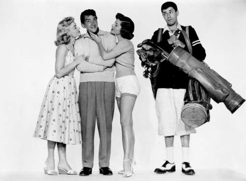 """Publicity Still Cast of """"The Caddy"""""""