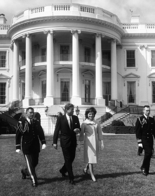 John F. Kennedy Attends Jackie Kennedy's Musical -  Cleaned