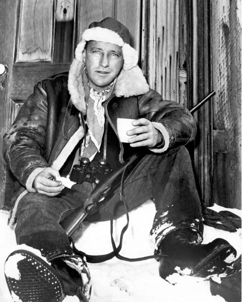 Bing Crosby in the Snow