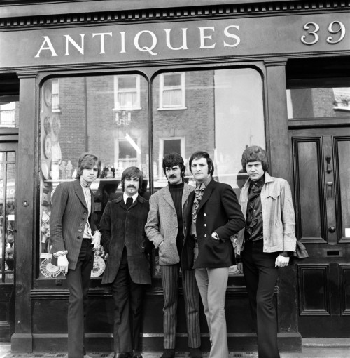 The Moody Blues on the Street