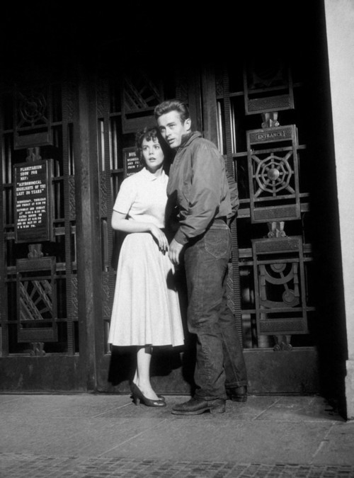 """James Dean and Natalie Wood """"Rebel Without A Cause"""""""