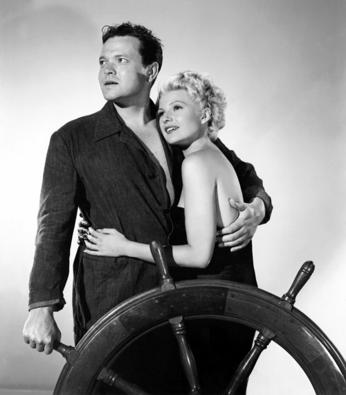 """Rita Hayworth and Orson Welles """"Lady From Shanghai"""""""