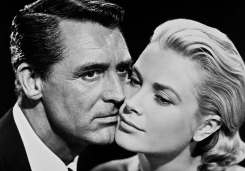 """Cary Grant and Grace Kelly in """"To Catch a Thief"""""""