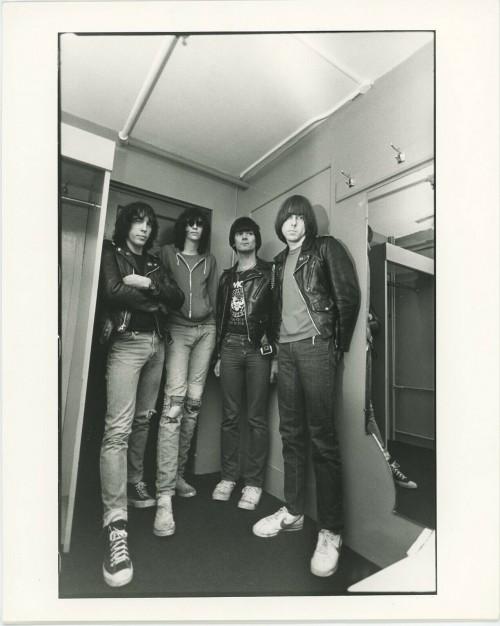 """""""Ramones"""" Black and White Portrait 1970's"""