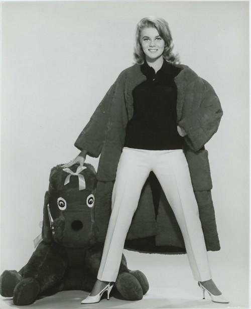 Ann-Margret Black and White Portrait 1963