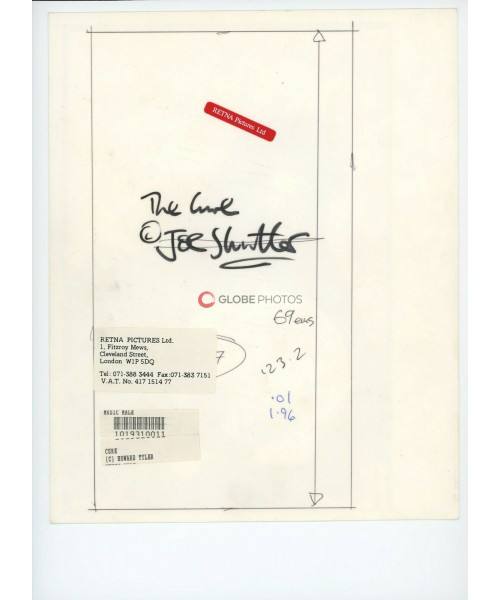 """""""The Cure"""" Black and White Portrait Circa 1980's"""